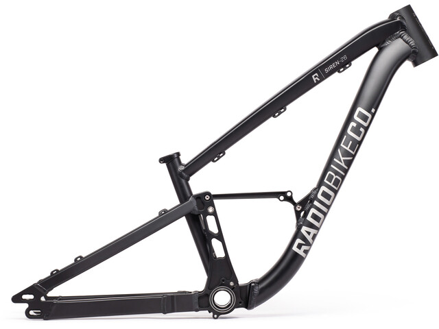 "Radio Bikes SIREN 26"" Rahmen matt black"